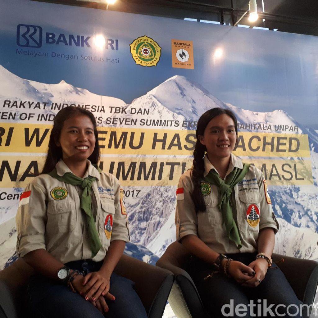 Enam Gunung Tertinggi Dunia Sudah Didaki Fransisca dan Matilda, Selanjutnya: Everest