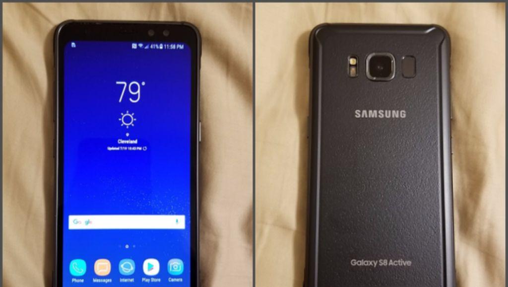 Inilah Tampang Galaxy S8 Tahan Banting