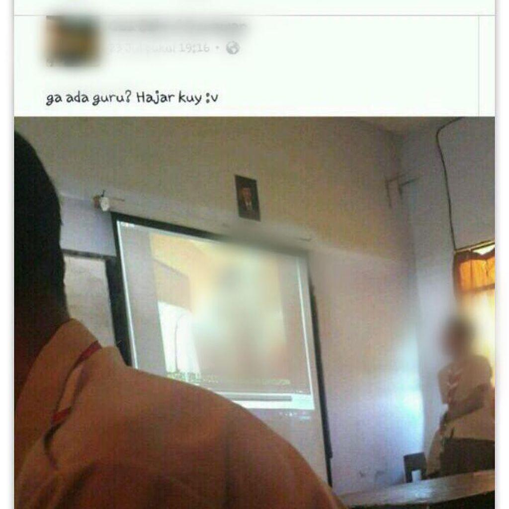 Disdik DKI Cek Foto Siswa Nonton Video Porno via Proyektor di Kelas
