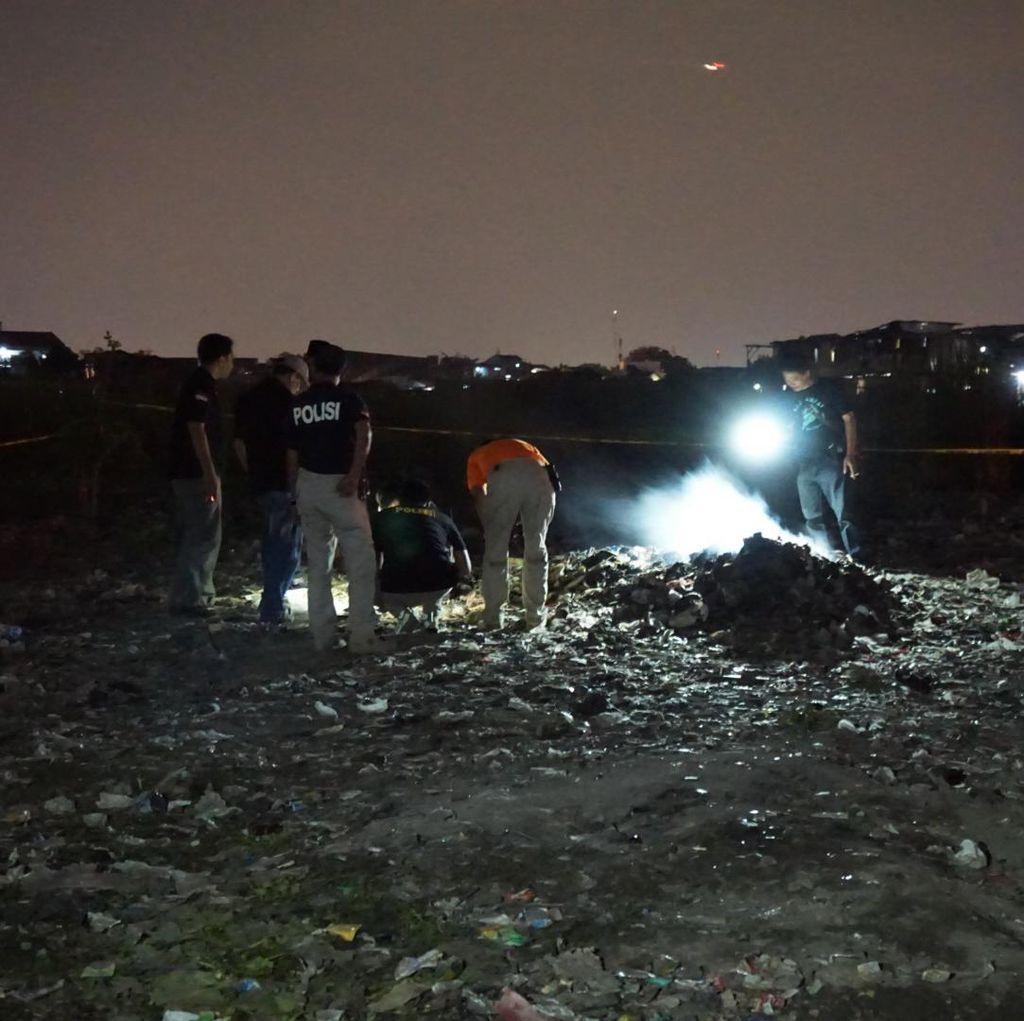 Penemuan Mayat di Cengkareng, Warga Lihat Pria Terbakar Berlari