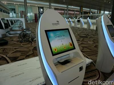 Terminal 4 Bandara Changi Janjikan Proses Check In yang Cepat