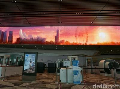 Begini Kerennya Terminal 4 yang Baru di Bandara Changi