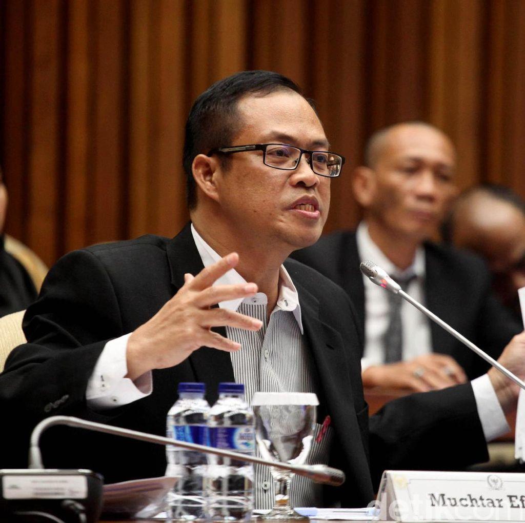 Artidjo: Muhtar Beri Keterangan Palsu agar TPPU Akil Tak Terungkap