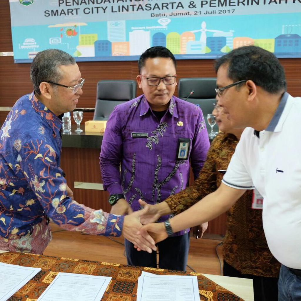 Lintasarta Perkuat Smart City Kota Batu