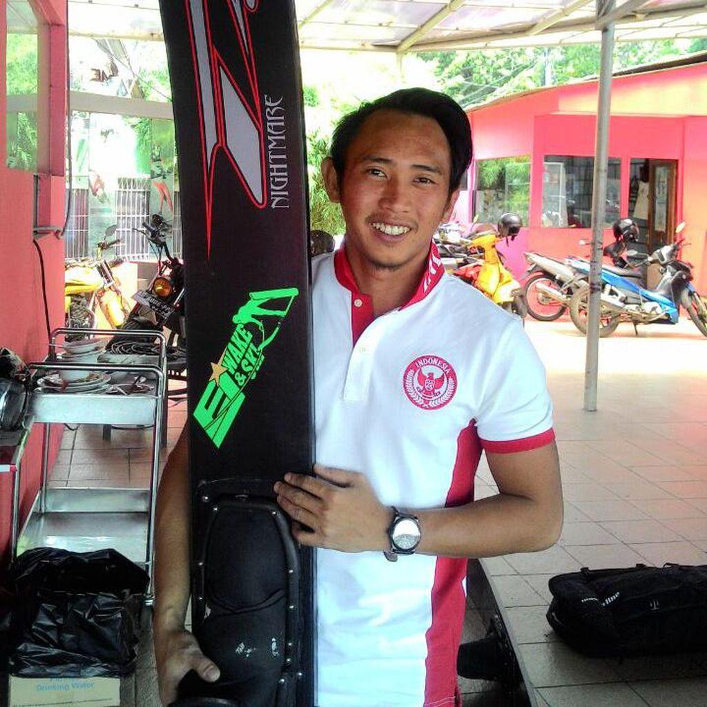 Zahidi Putu Targetkan Dua Emas Ski Air di SEA Games 2017