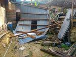 Diterjang Angin Puting Beliung, 20 Rumah di Riau Rusak