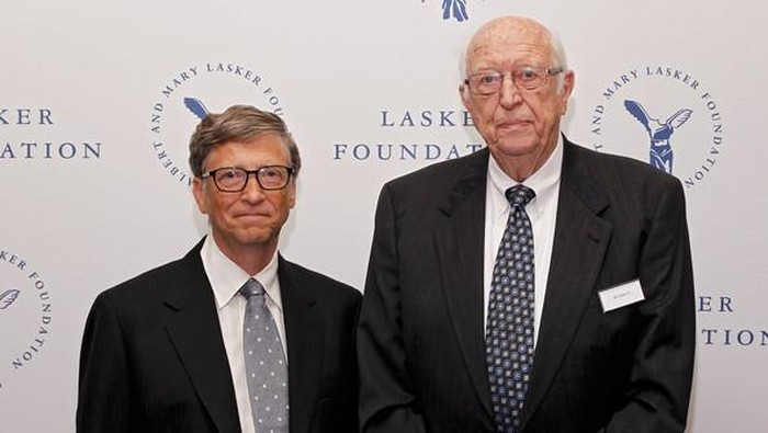 Bill Gates dan ayahnya. Foto: Getty Images