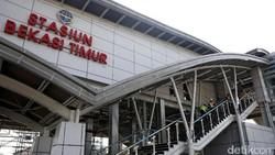 Foto: Oktober, Bekasi Bakal Punya Stasiun Kereta Keren