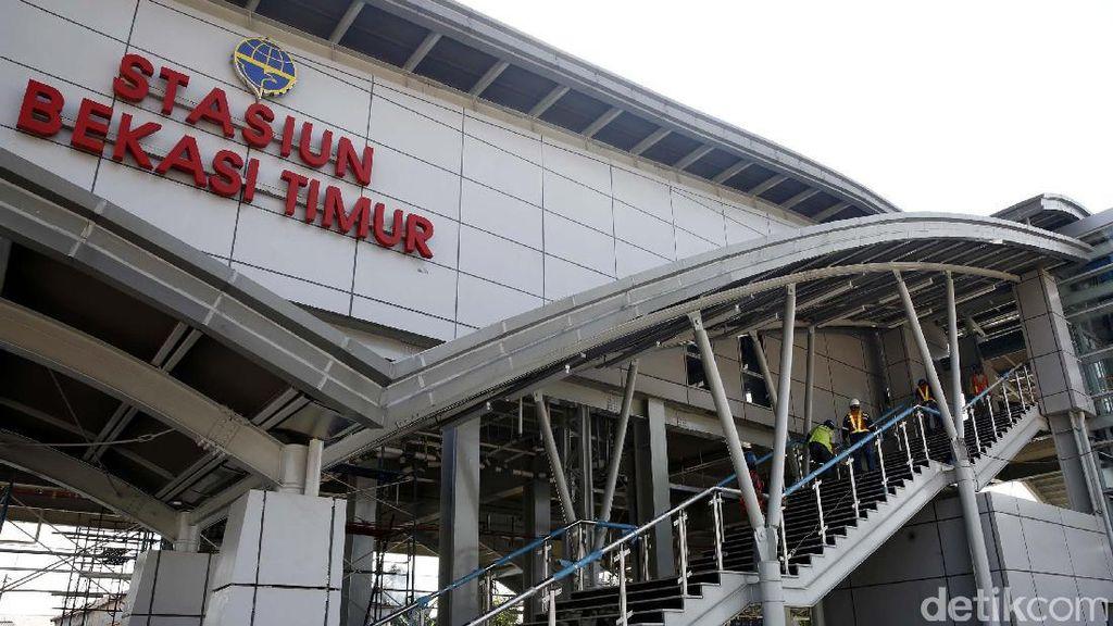 Wajah Modern Stasiun Bekasi Timur