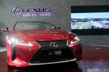 Mobil Konsep Lexus LC 500 Resmi Diluncurkan