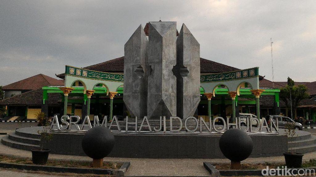 Hari ini Calon Haji Jawa Tengah dan DIY Masuk Asrama Haji