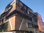 Begini Penampakan Toko Tekstil  DFashion Bandung yang Terbakar