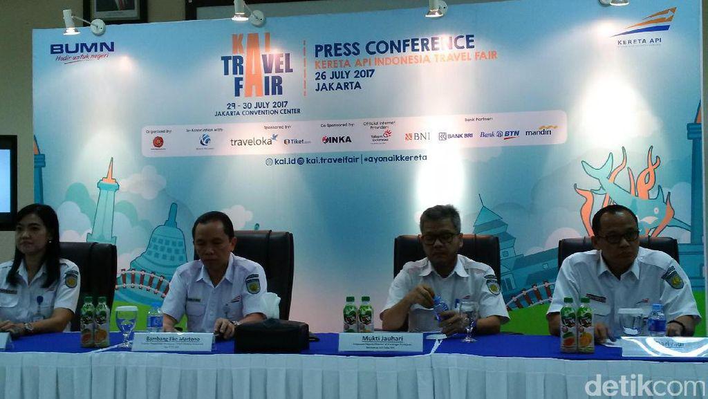 Serbu! Tiket Kereta Eksekutif Diskon 72% di KAI Travel Fair