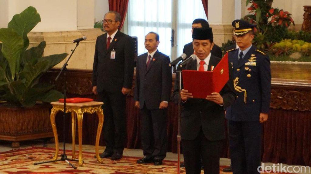 Jokowi: Taruh Dana Haji di Infrastruktur Aman, Enggak Akan Rugi