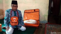 Manshur, Penjahit Penyandang Disabilitas Asal Banjarnegara Naik Haji