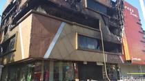 Polisi Selidiki Penyebab Kebakaran Toko Tekstil DFashion Bandung