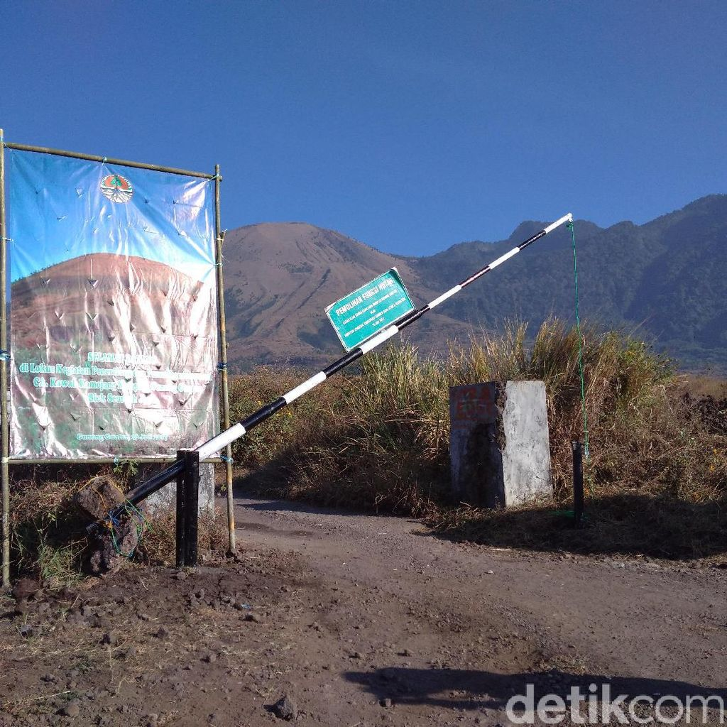 Area Galian Pasir di Gunung Guntur Diusulkan Jadi Tempat Piknik