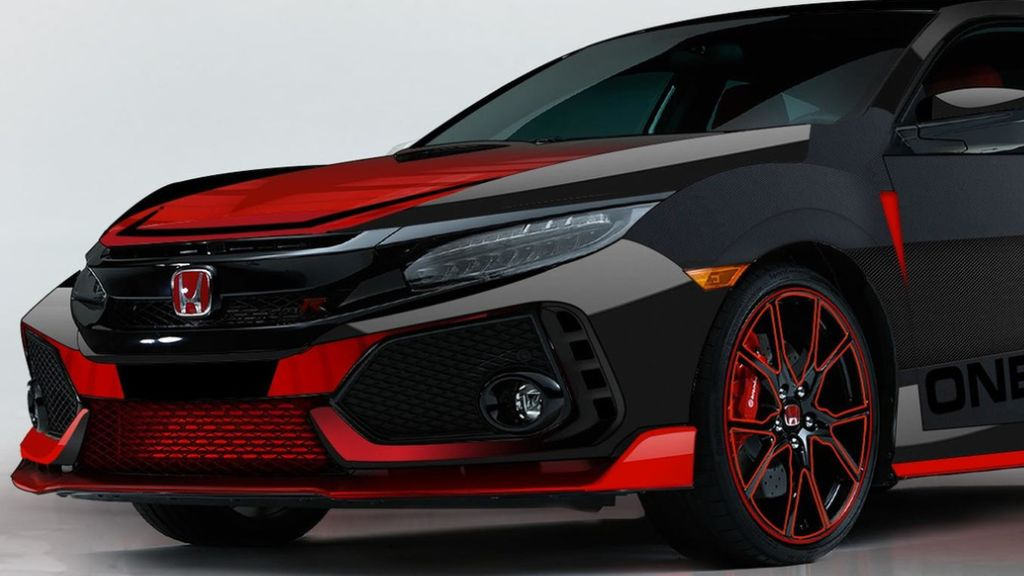 Honda Civic Type R ala Band Pop Rock