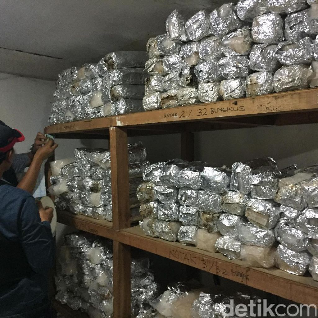 Ini Peranan Para Pelaku Penyelundupan Sabu 256 Kg di Pluit