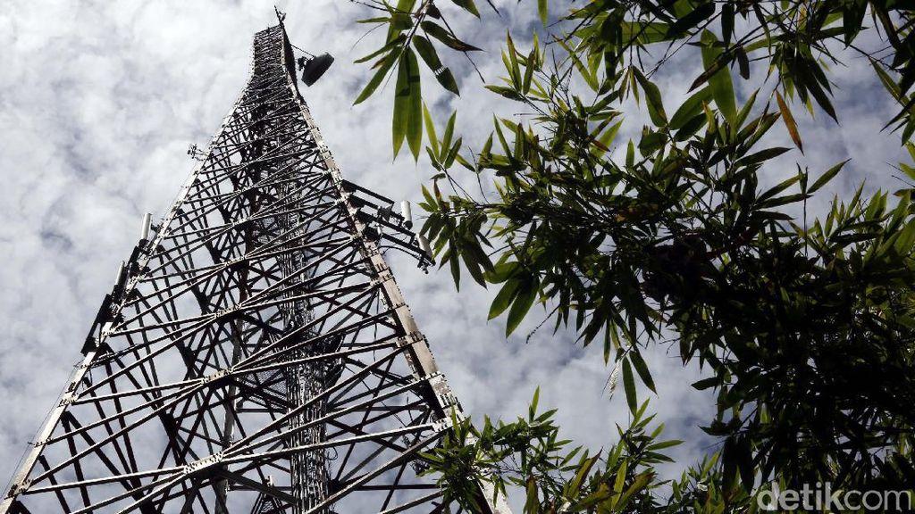 Menara Sinyal Penjaga Nusantara
