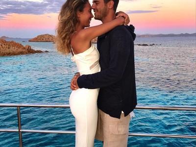 Mengintip Liburan Romantis Alvaro Morata Sebelum ke Chelsea