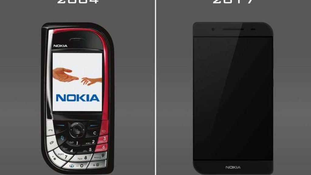 Begini Jika Nokia Daun 7610 Lahir Kembali