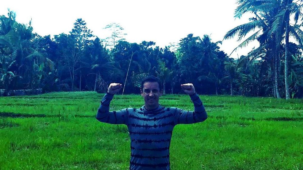 Legenda Manchester United yang Senang Banget Liburan di Bali