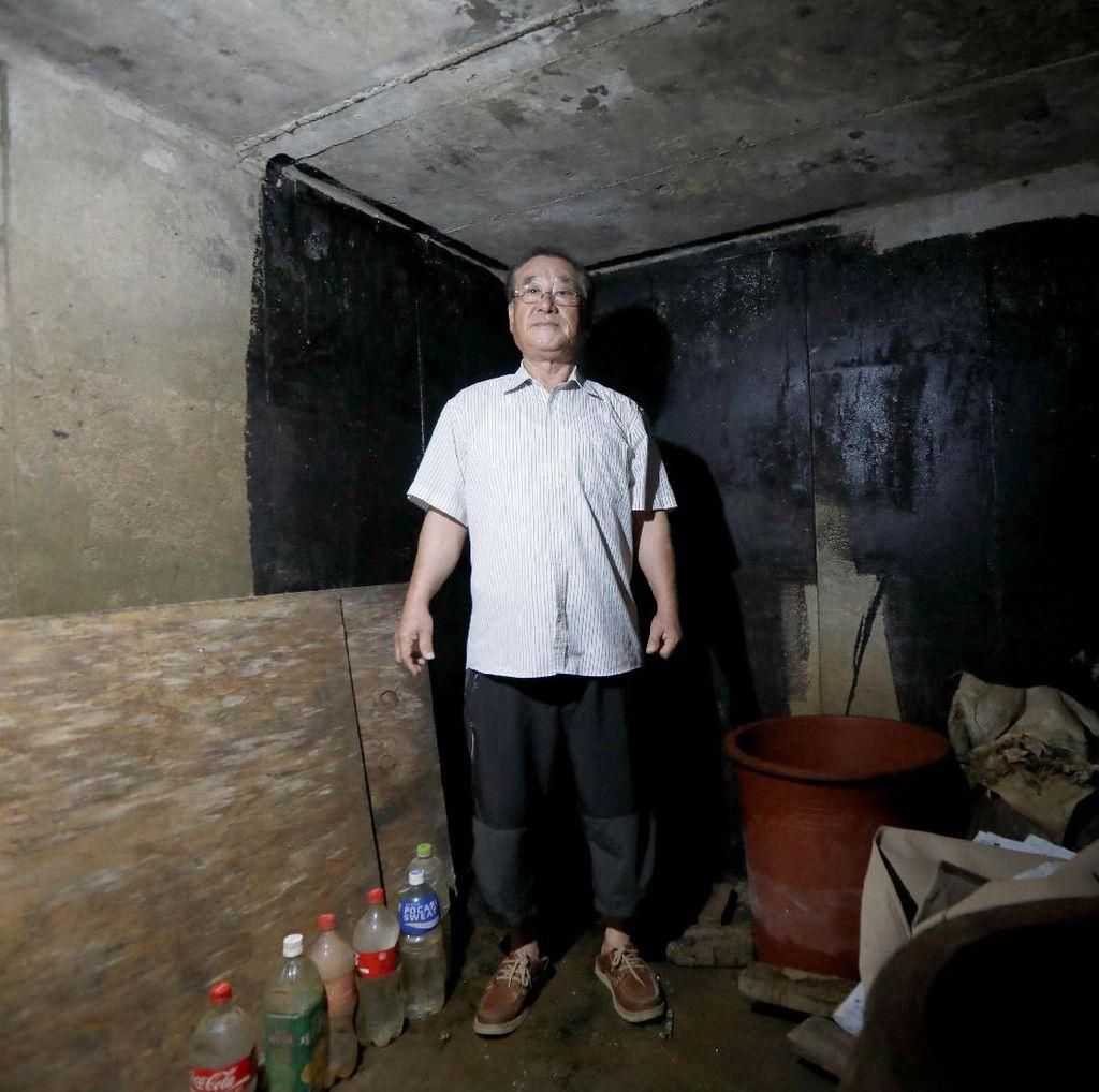 Daerahnya Rawan Perang, Warga Paju Bangun Bunker