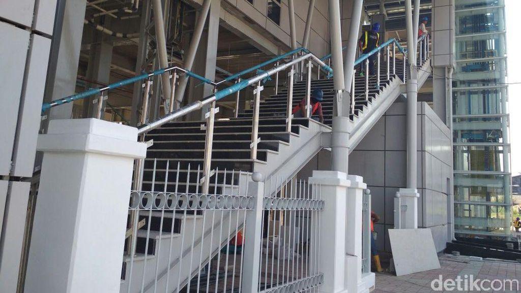 Hampir Rampung, Pembangunan Stasiun Bekasi Timur Sudah 90%