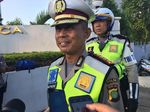 Cegah Pemotor Bandel, Polisi Jaga JLNT Casablanca Pagi hingga Malam