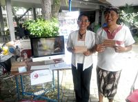 Filiana Mila Dewi dan Josh Handani, founder dan co founder Rumah Inspirasi Jogja (dok Josh Handani/Rumah Inspirasi Jogja)