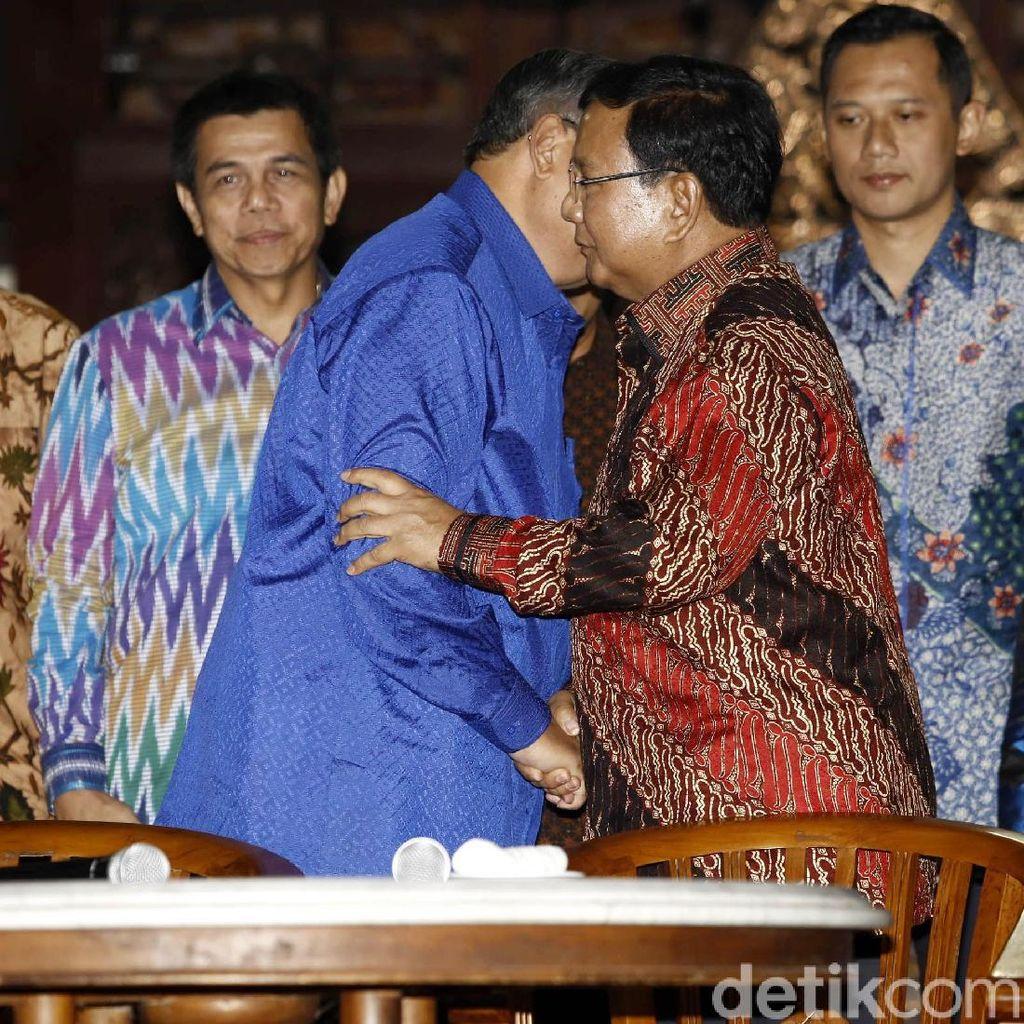 Video Saat Prabowo Sapa SBY dengan Sebutan Presiden