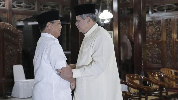 Pertemuan Prabowo dan SBY tahun 2014 /