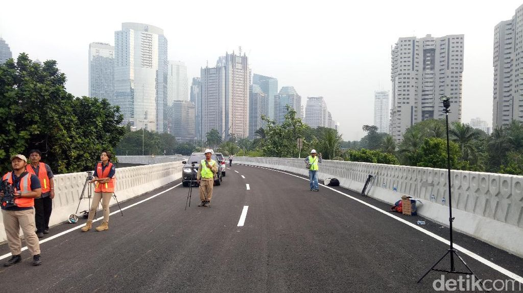 Pemprov DKI: Dana Proyek Simpang Susun Semanggi Sisa Rp 200 M