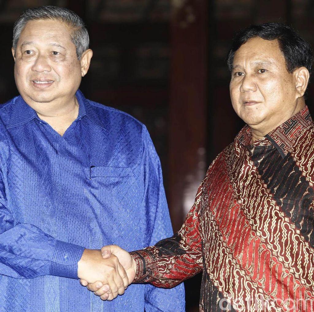 SBY-Prabowo Sepakat Kerja Sama, Ini Kata PDIP