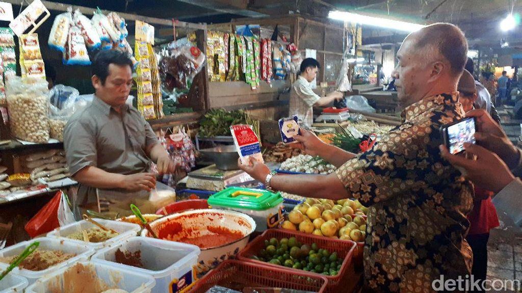 Kelangkaan Garam Sudah Sampai Bandung