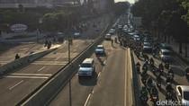 Penampakan Dua Wajah Pemotor di JLNT Casablanca