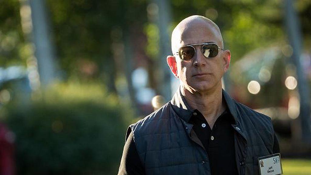Duh, Bos Amazon Kalahkan Bill Gates Cuma Sebentar