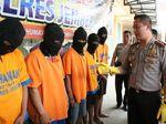7 Pengedar Narkoba Diamankan, Sabu dan Tembakau Gorila Disita