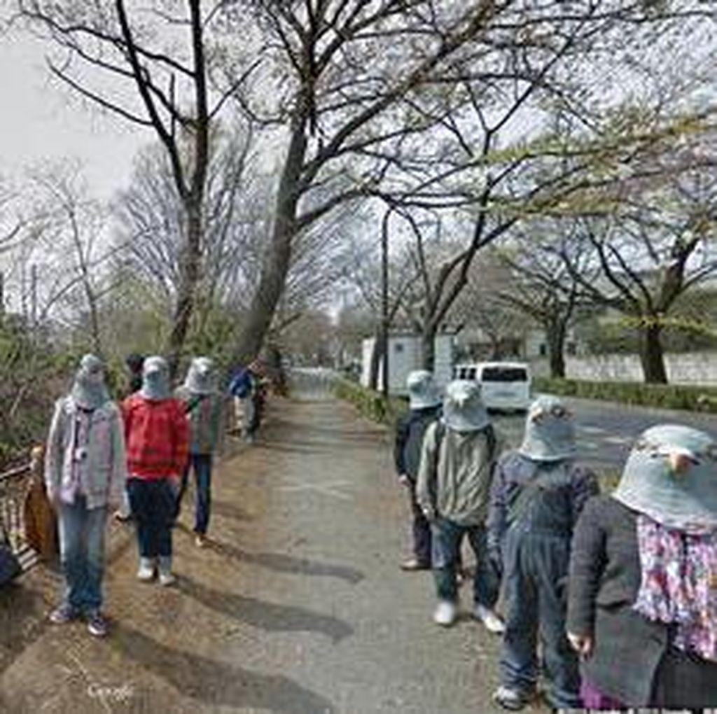 Deretan Foto Aneh dan Lucu di Google Street View