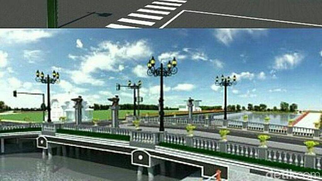 Pembangunan Jembatan Ratna Dikebut, Jalan Darmokali Ditutup