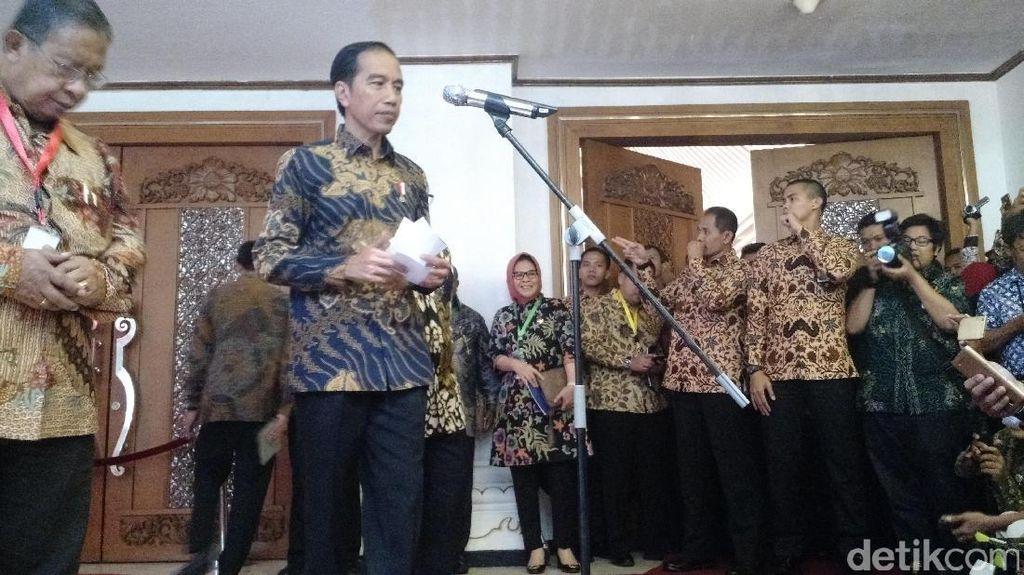 Pasokan Garam Langka, Jokowi Cek ke Menteri