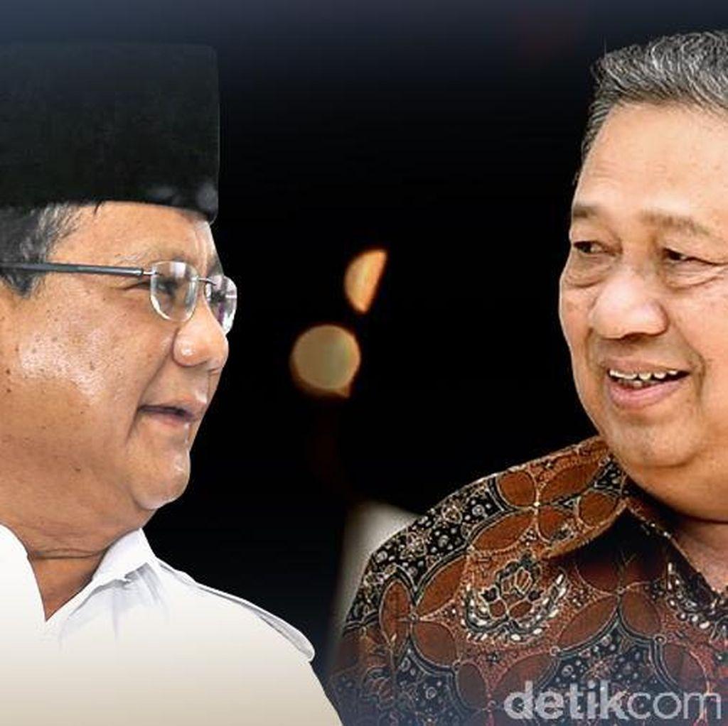 Jelang Pertemuan Prabowo-SBY, Begini Suasana di Cikeas