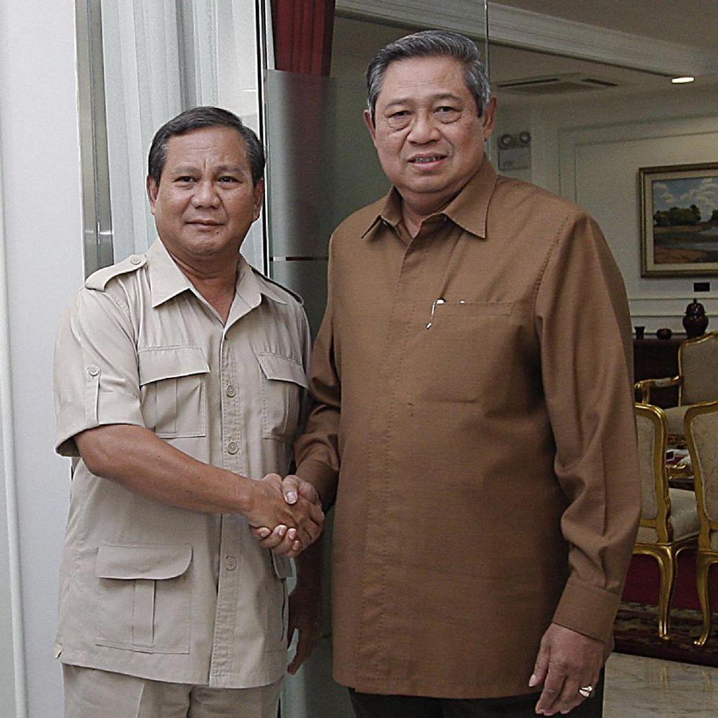 Demokrat: Prabowo yang Minta Bertemu SBY Malam Ini