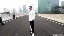 Djarot Tak Izinkan Simpang Susun Semanggi Dibuka Saat Car Free Day