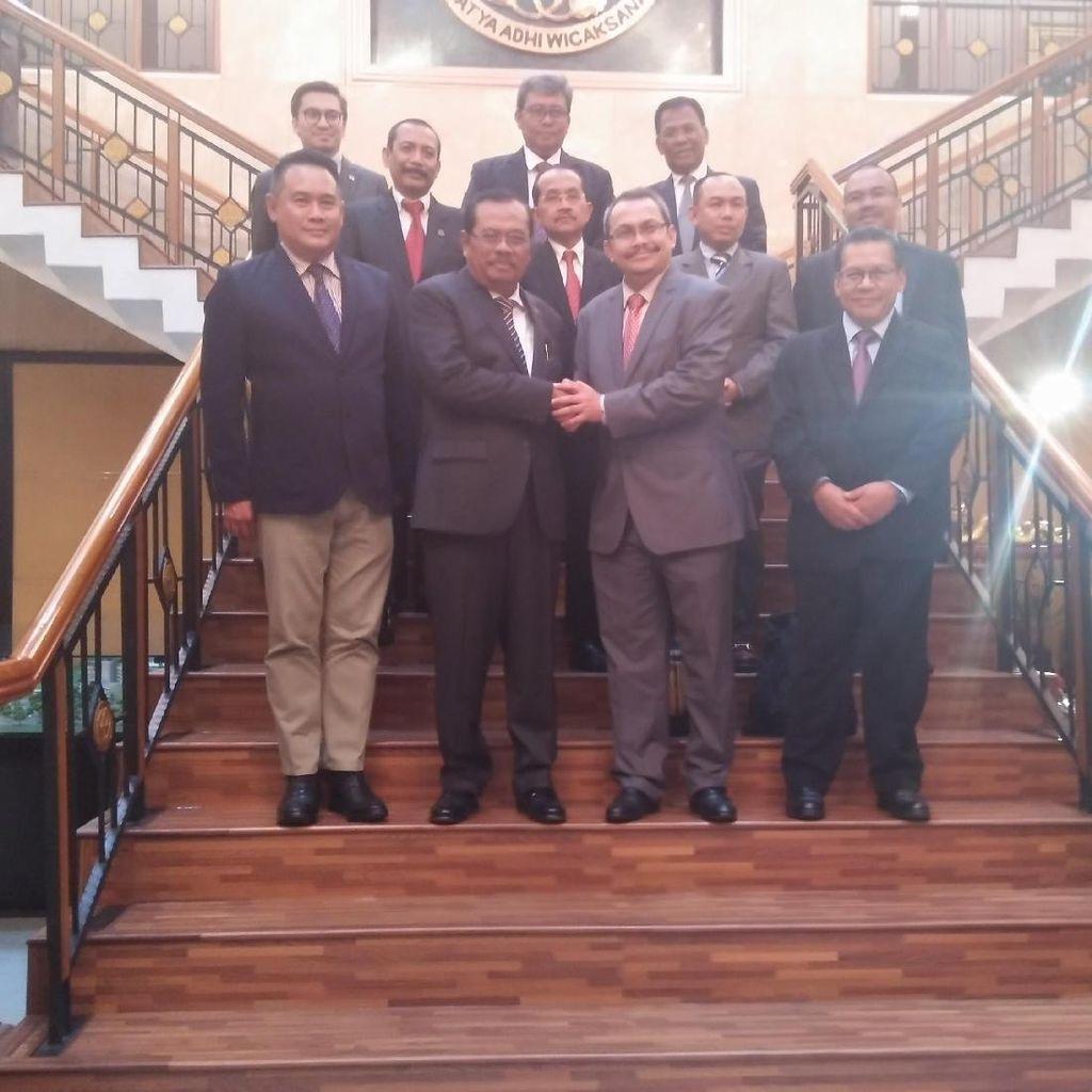 Jaksa Agung Buka Peluang Kerjasama dengan KPK Malaysia