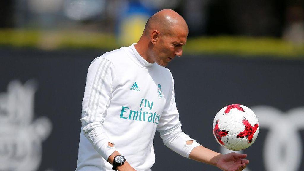 Mbappe Diisukan ke Madrid, Zidane: Itu Bukan Urusan Saya!
