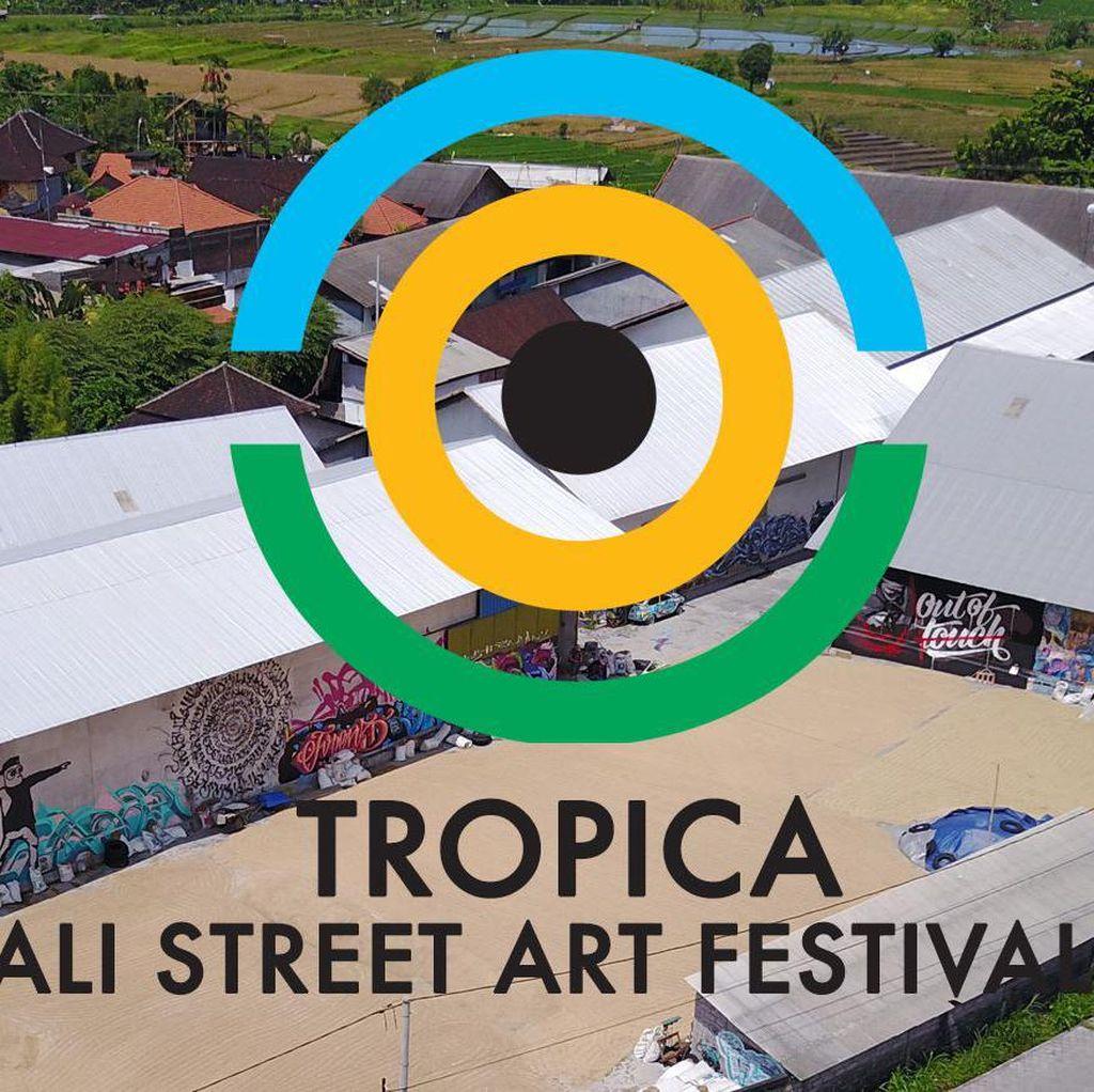 Festival Street Art Terbesar di Bali Tampilkan 45 <i>Street Artist</i>