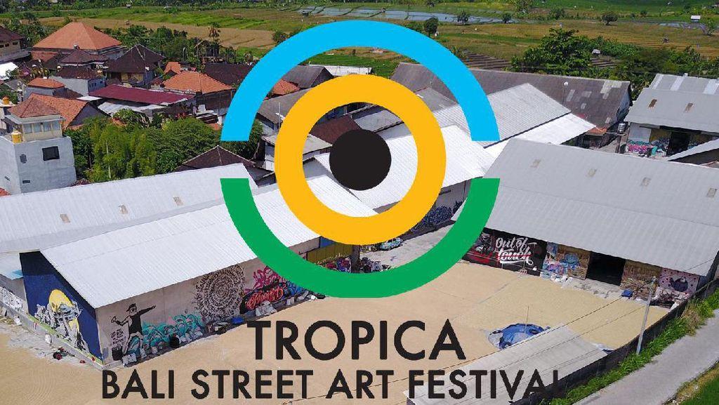 Festival Street Art Terbesar di Bali Tampilkan 45 Street Artist