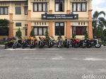 Polisi Sita Belasan Harley Davidson Berdokumen Palsu di Siak Riau